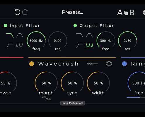 Krushpro audio crusher plugin