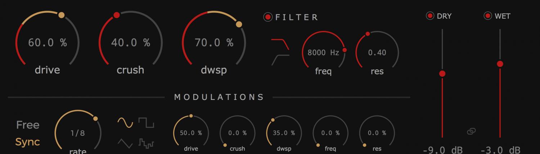 Krush free bitcrusher plugin